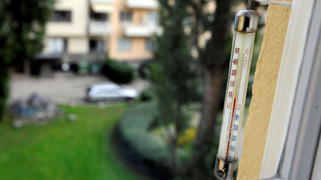 Utomhustermometer