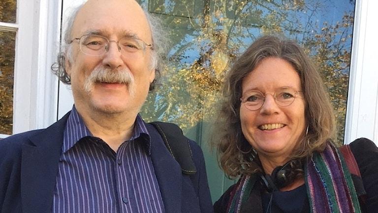 Duncan Haldane och Lena Nordlund