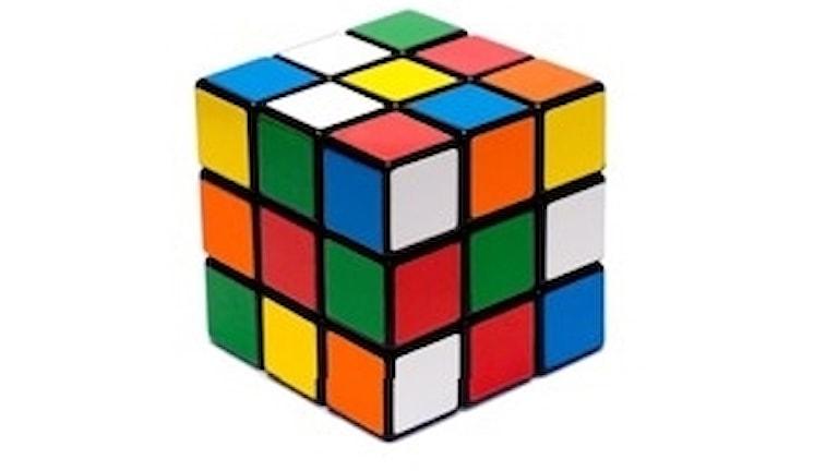 Rubiks kub.