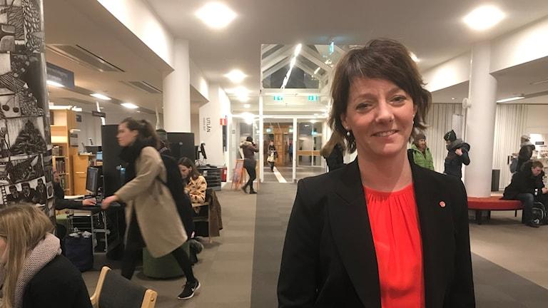 Den nya forskningsministern, socialdemokraten Matilda Ernkrans