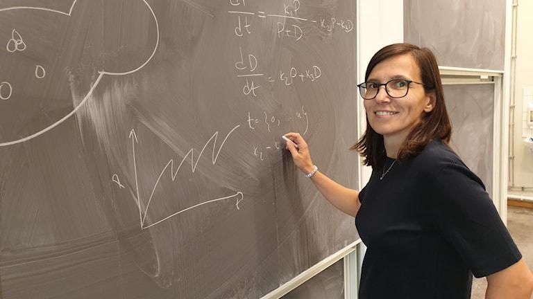 Marija Cvijovia är forskningsledare och docent i matematik.