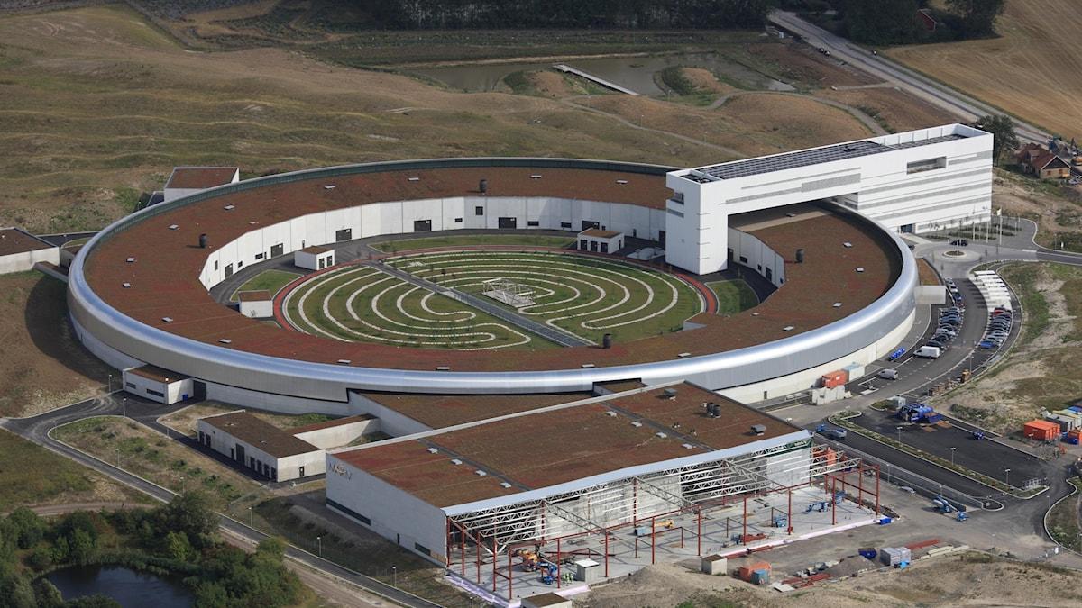 Cirkelformad byggnad