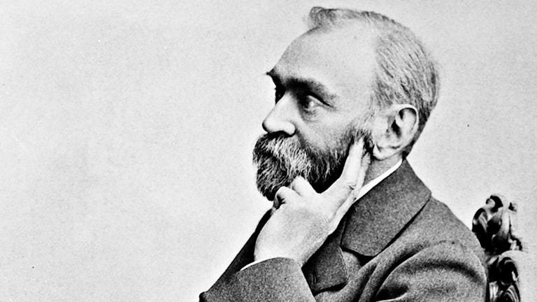 porträtt Alfred Nobel