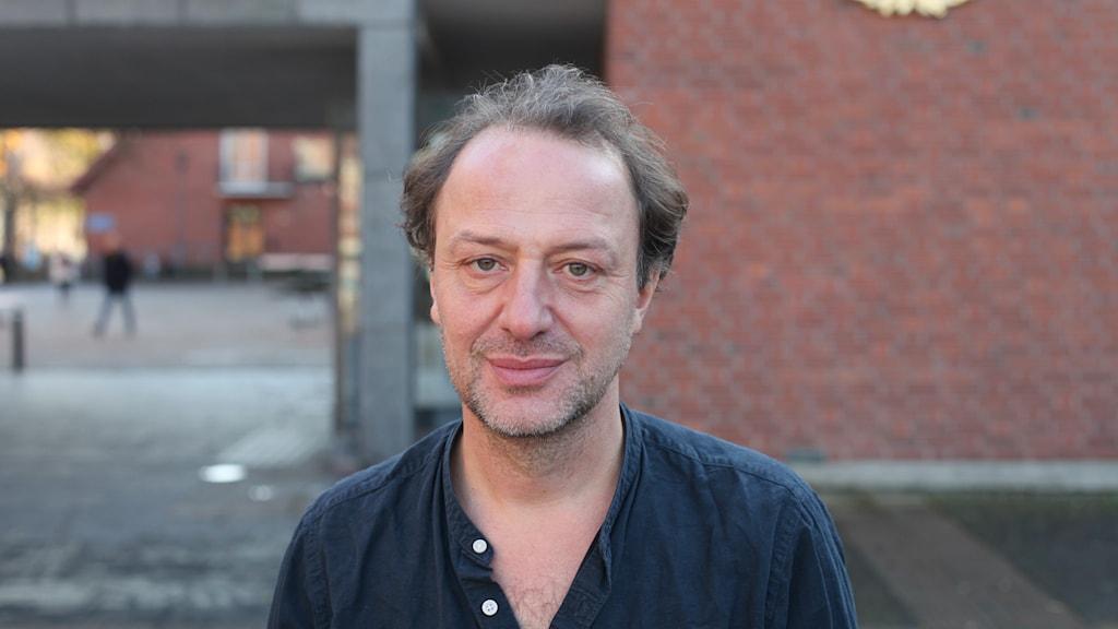 Porträttbild på Christian Azar.