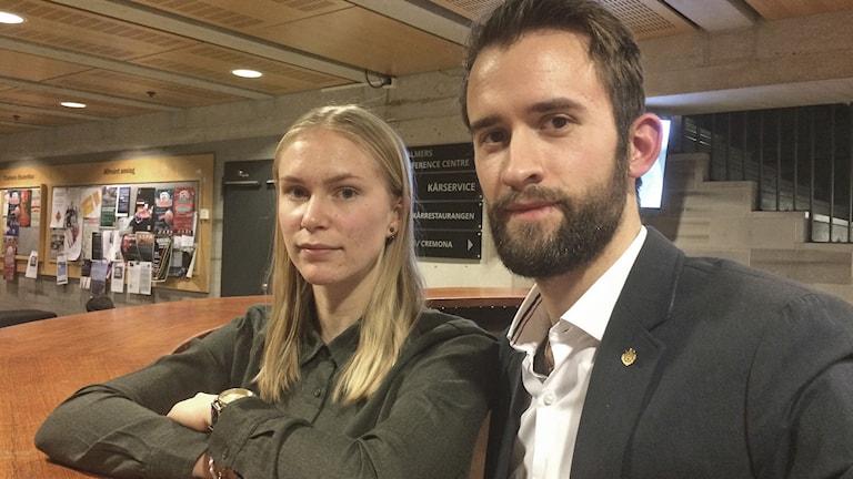 Lisa Winberg och Carl Toller