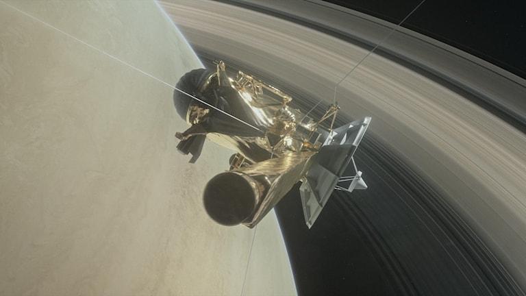 cassini och Saturnus