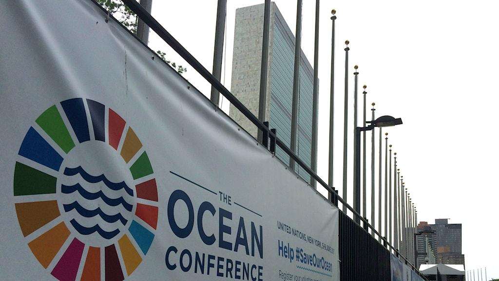Havskonferensen i New York är det största FN möte som Sverige arrangerar sedan miljökonferensen i Stockholm 1972.