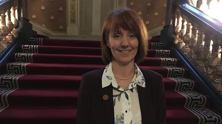 Carole Mundell, chefsrådgivare i forskningsfrågor på det brittiska utrikesdepartementet