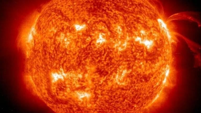 Bild på solen.