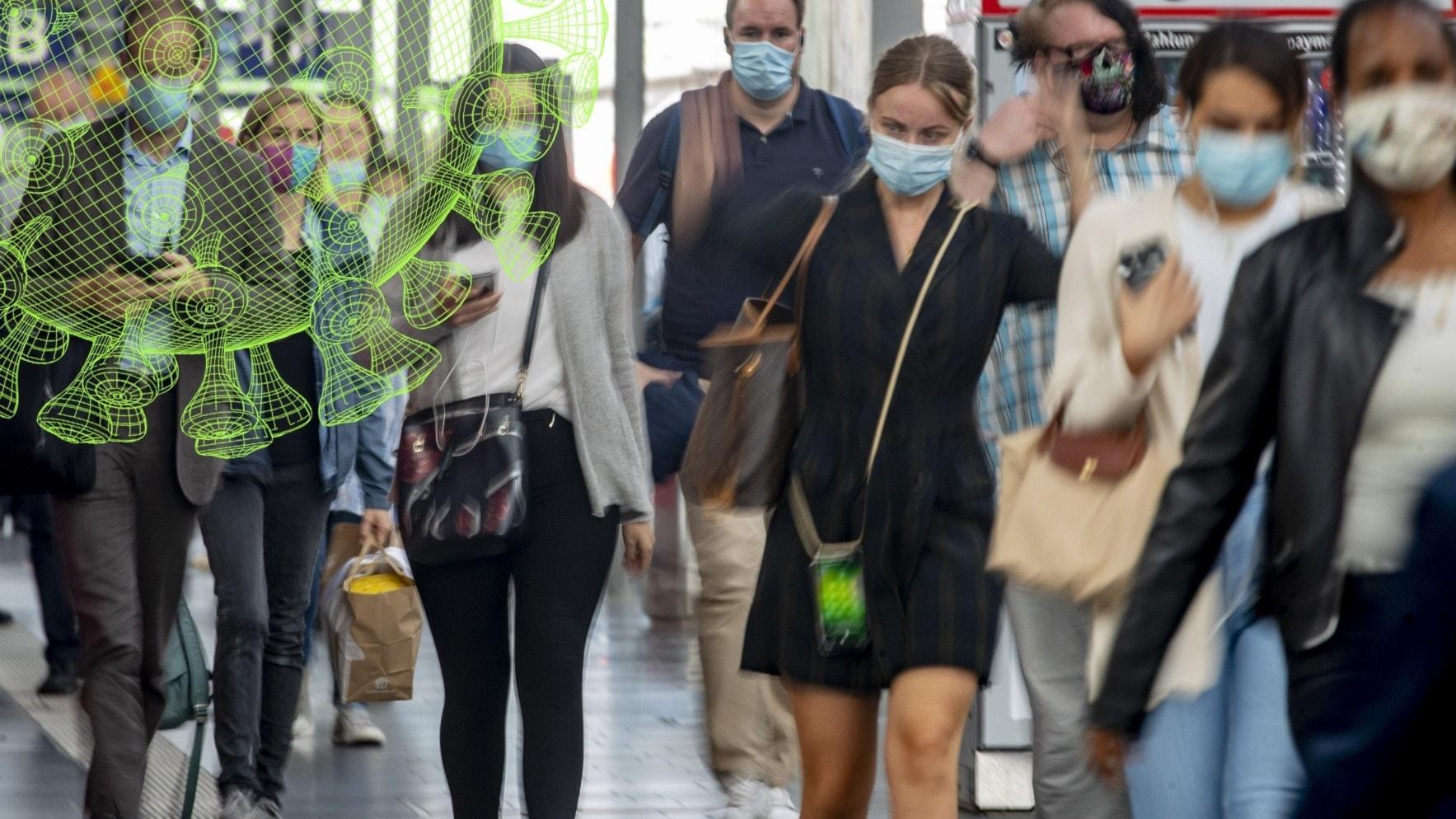 Begränsad effekt av munskydd - Vetenskapsradions coronaspecial