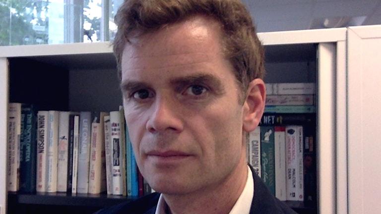 Forskaren Martin Moore.