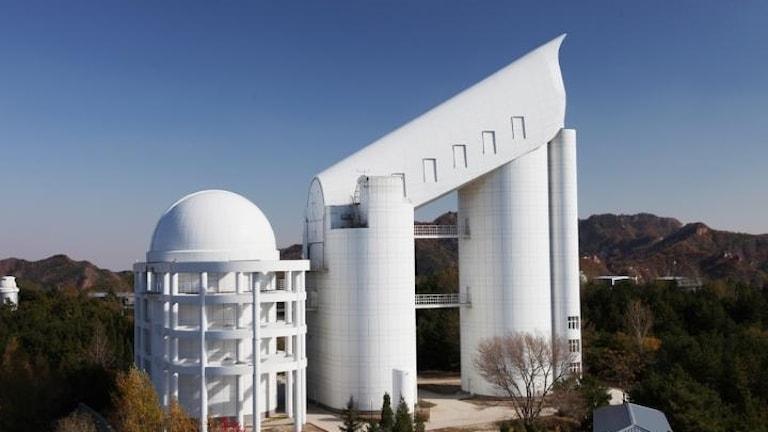 Bild på teleskopet Lamost.