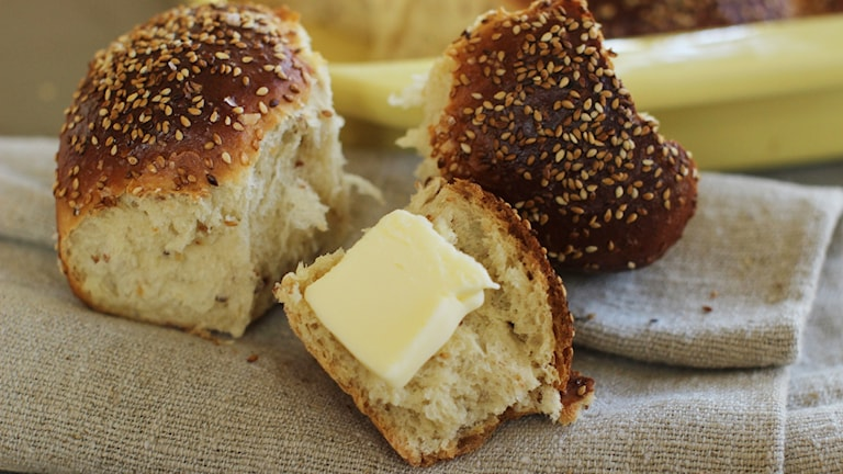 bröd med smör