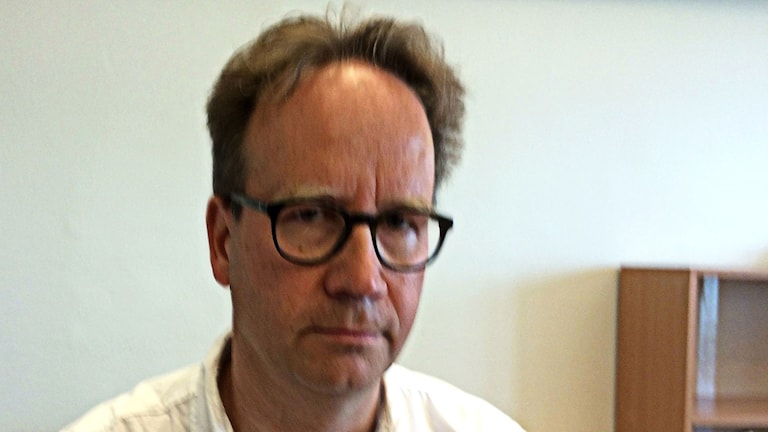 Forskaren Peter Szakalos på KTH i Stockholm..