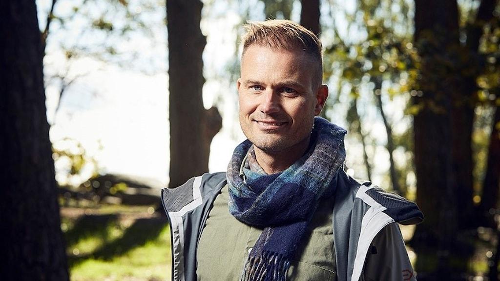 Porträttbild på Martin Hultman.