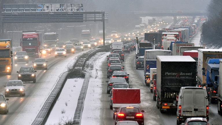 Tung trafik i Tyskland
