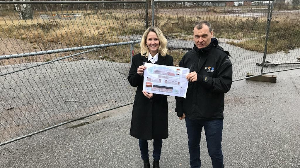 Susanné Wallner och Thomas Johnsson på Mariestads kommun