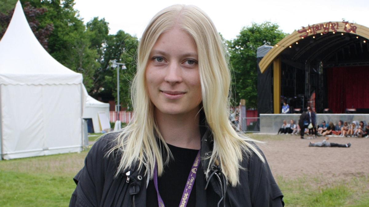 Emma Svensson är chef på Rockfoto