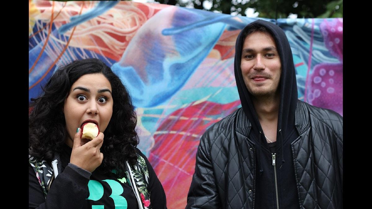 Tina och Samir rockar Way Out West