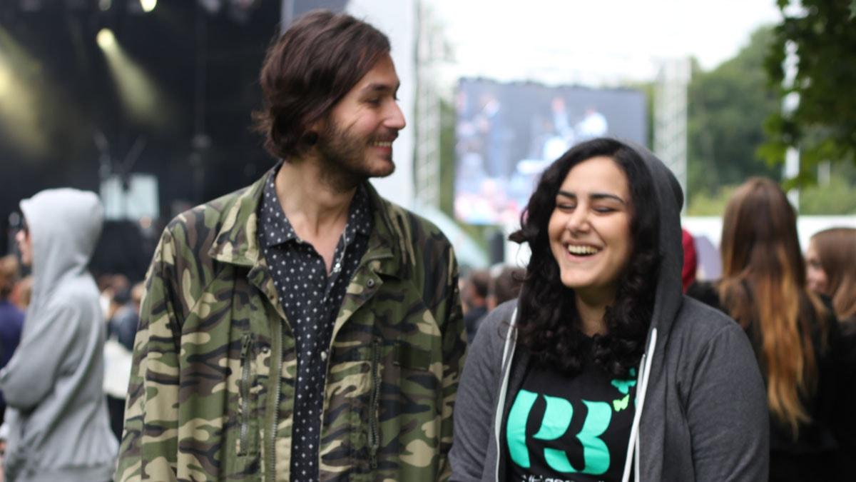 Samir och Tina på Popaganda.