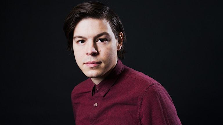 Marcus Morey-Halldin (Foto: Mattias Ahlm/Sveriges Radio)