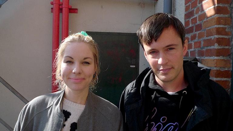 Annah Björk och Per Magnusson