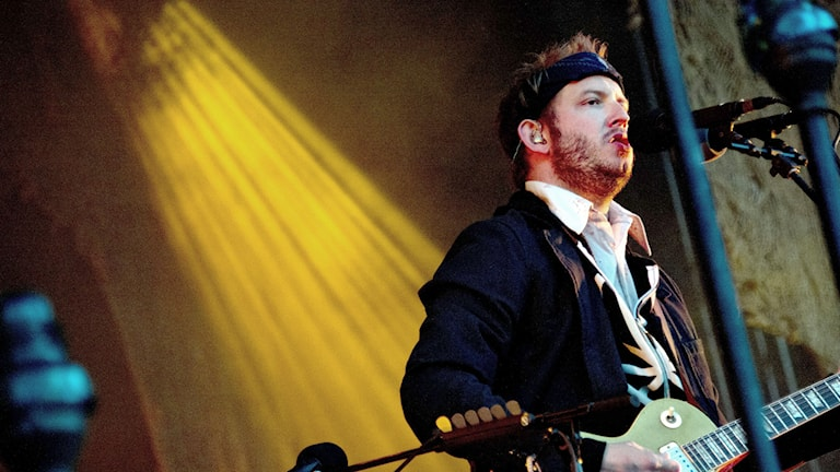 Justin Vernon, eller Bon Iver som är hans artistnamn. Foto: Adam Ihse/TT