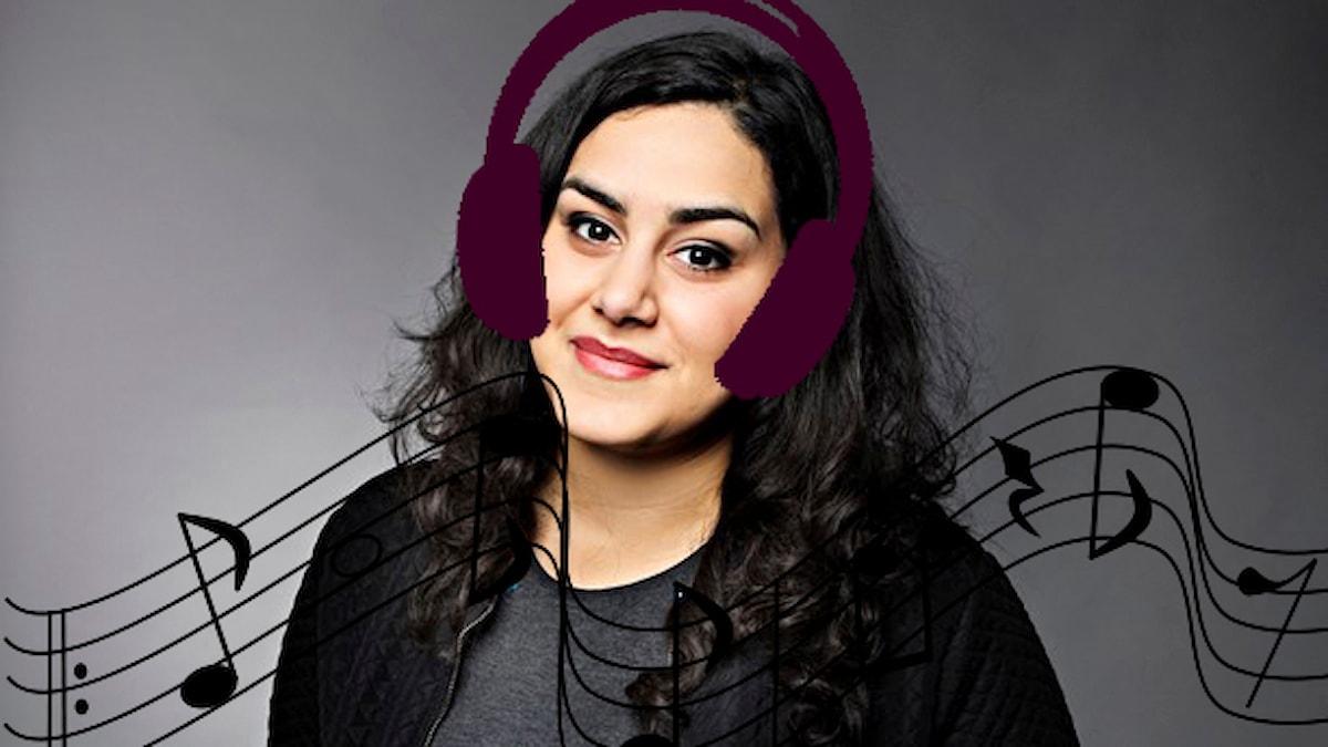Tina guidar till ny musik.