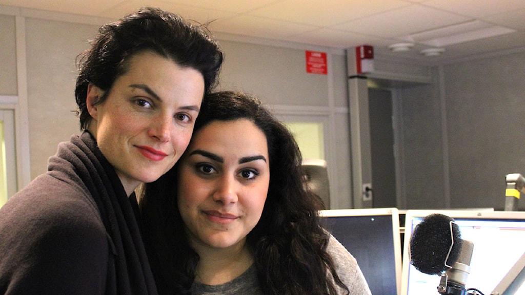 Karin Park och Tina Mehrafzoon