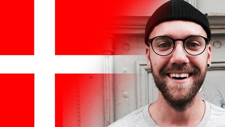 Carl spelar dansk musik
