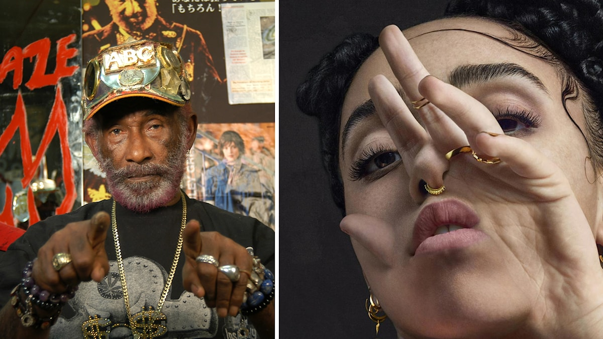 Lee Scratch Perry och FKA Twigs