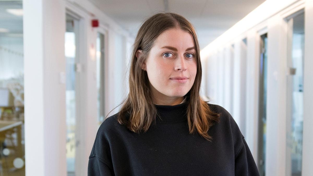 Anna Rosenström, reporter på Musikguiden i P3