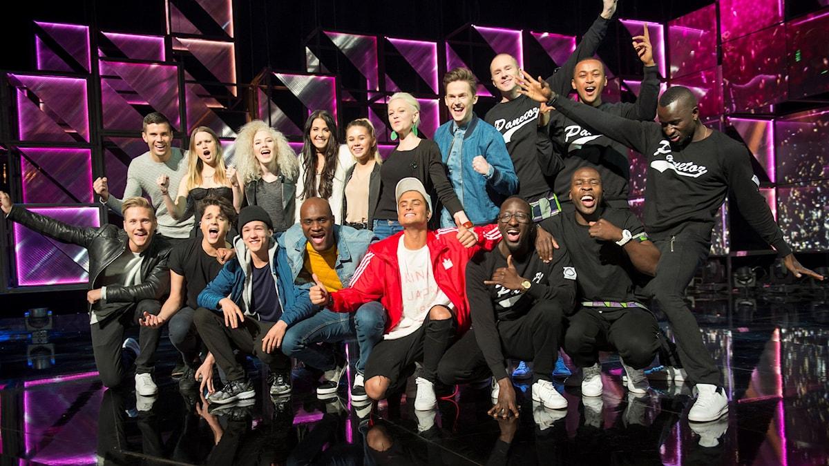 Finalister i Melodifestivalen