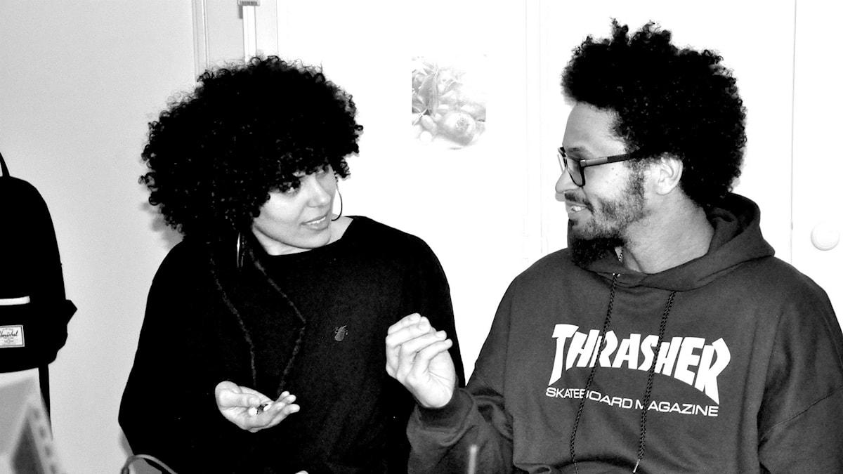 Ikhana och dj Majk