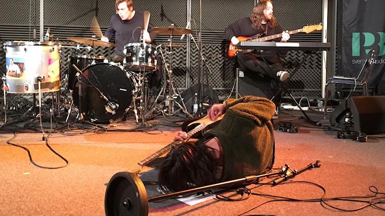 Vita Bergen i Musikguiden i P3: Session