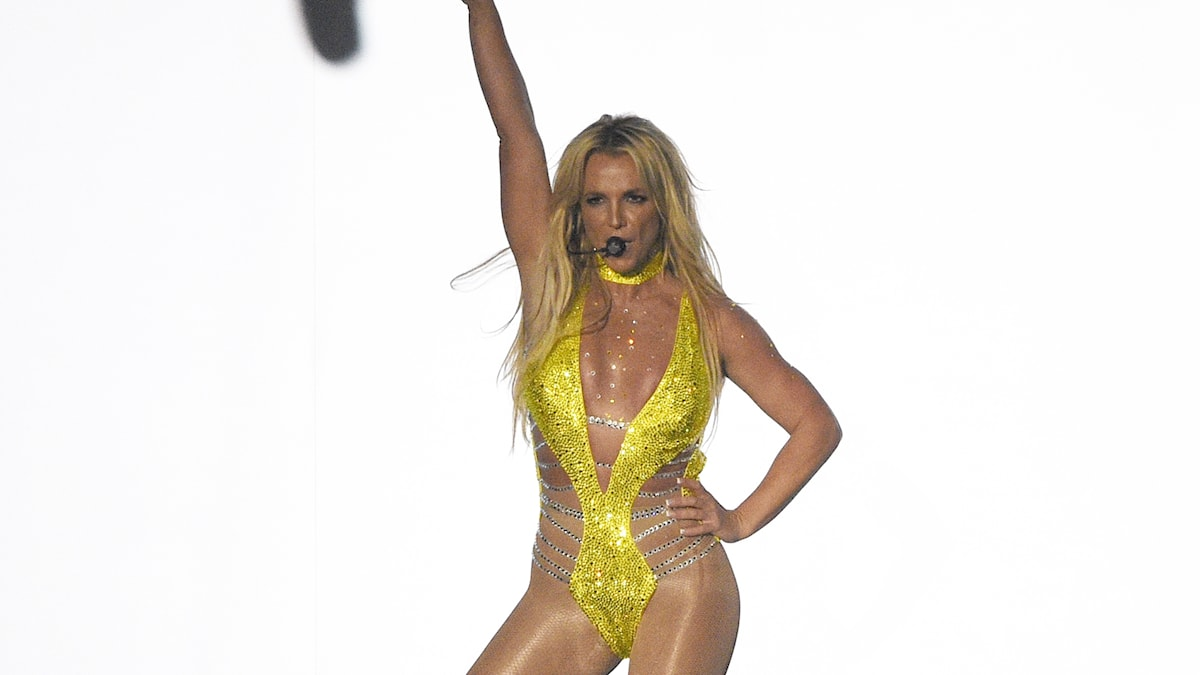 Britney Spears på MTV Video Music Awards i söndags.