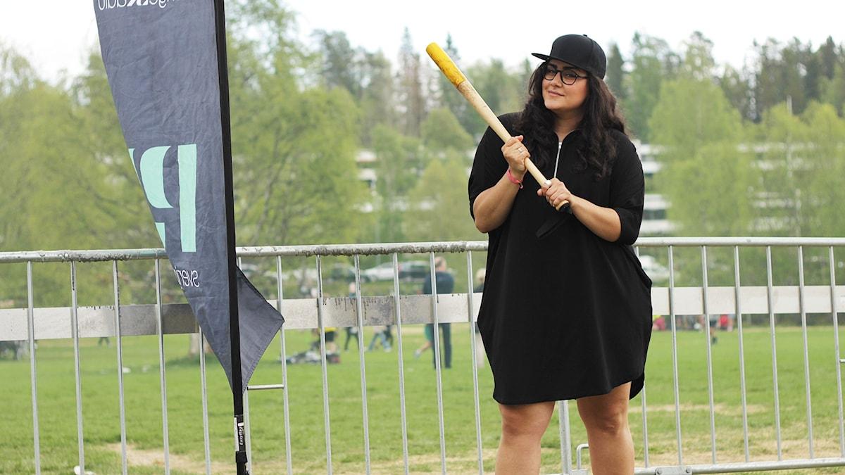 Tina på Brännbollsyran