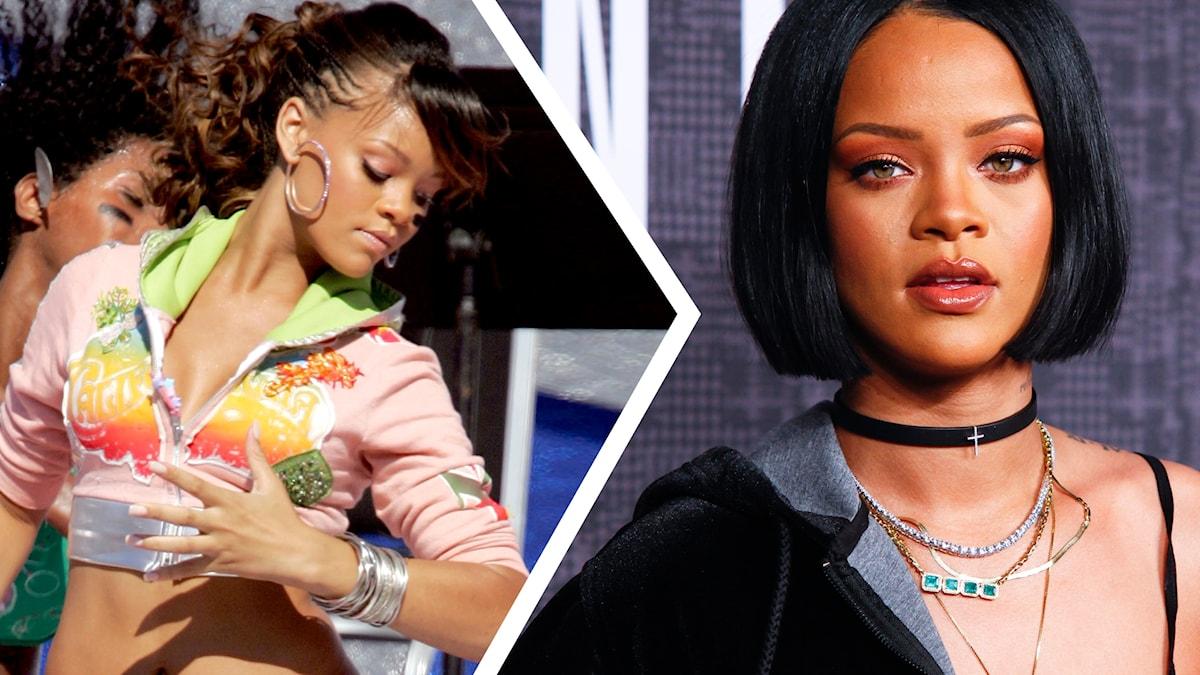 Rihanna 2005 och 2016