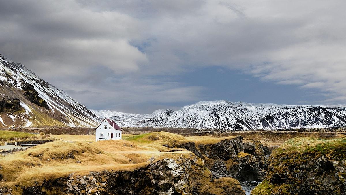 Arnarstapi på Island