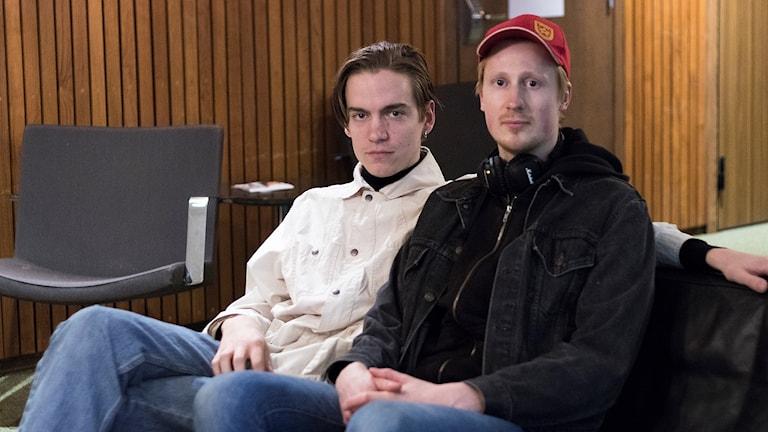Olle Darmell och Nils Dahlqvist i Solen