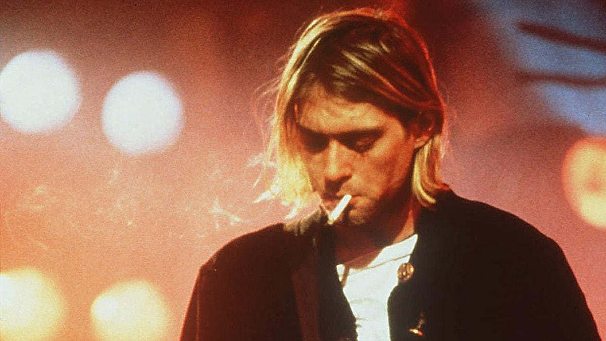 Kurt Cobain, sångare i Nirvana