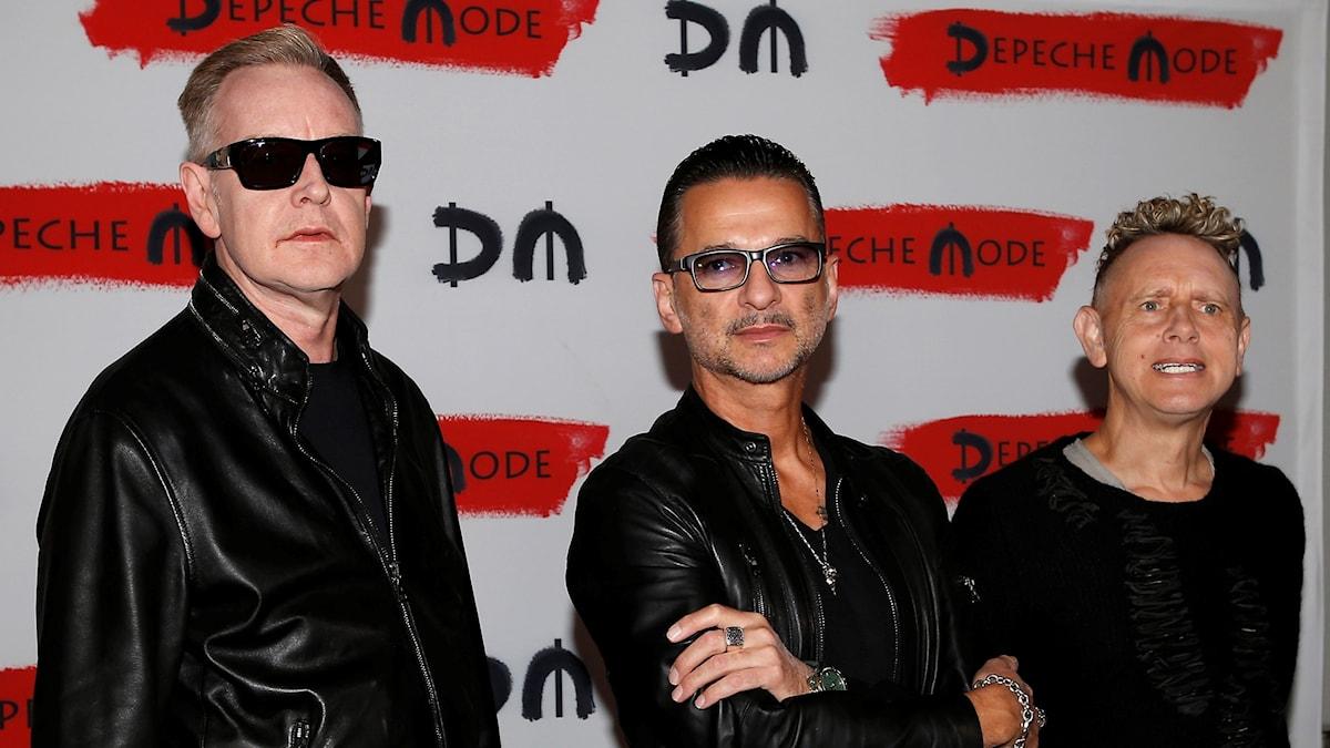 Depeche Mode presskonferens Milano