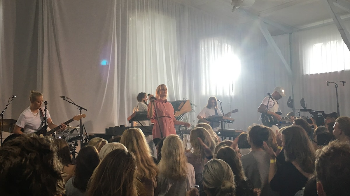 Veronica Maggio live på Vaxholms kastell 2019