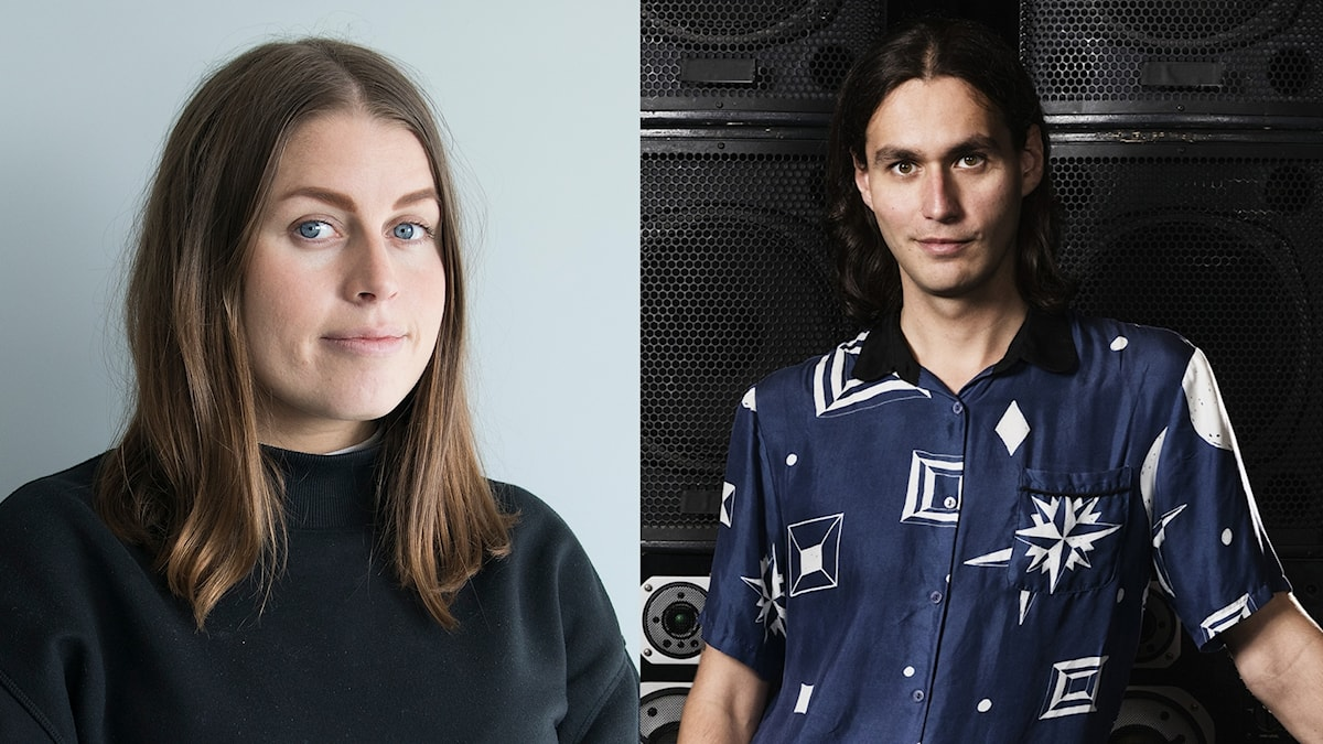 Anna Rosenström och Samir Yosufi