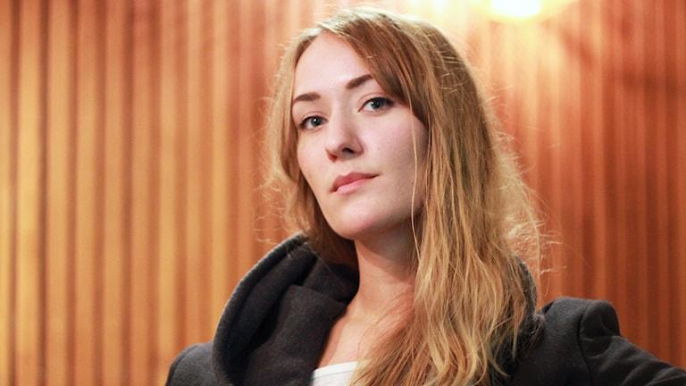 Linn Fijal, studiochef på Riksmixningsverket