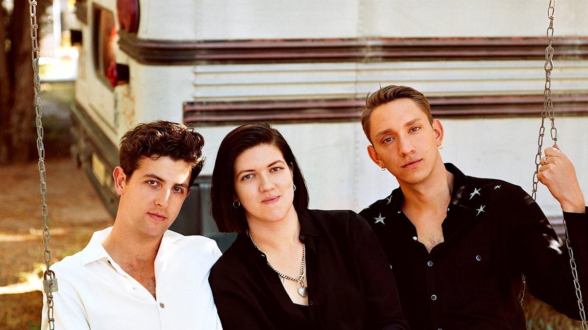 Jamie, Romy och Oliver i The xx