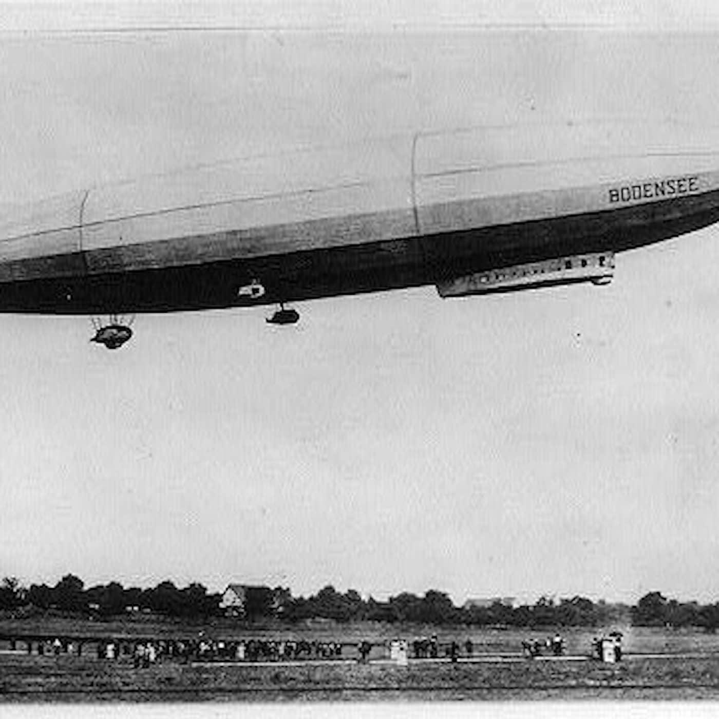 När zeppelinaren kom på besök