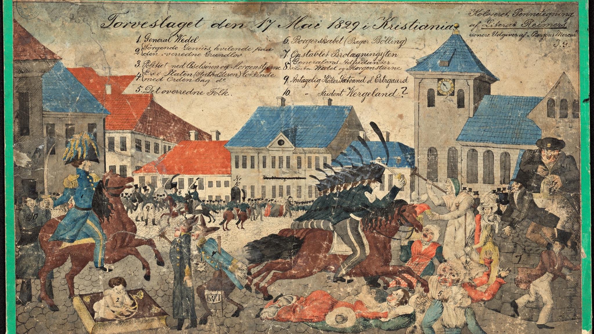 När Norge inte fick fira 17 maj