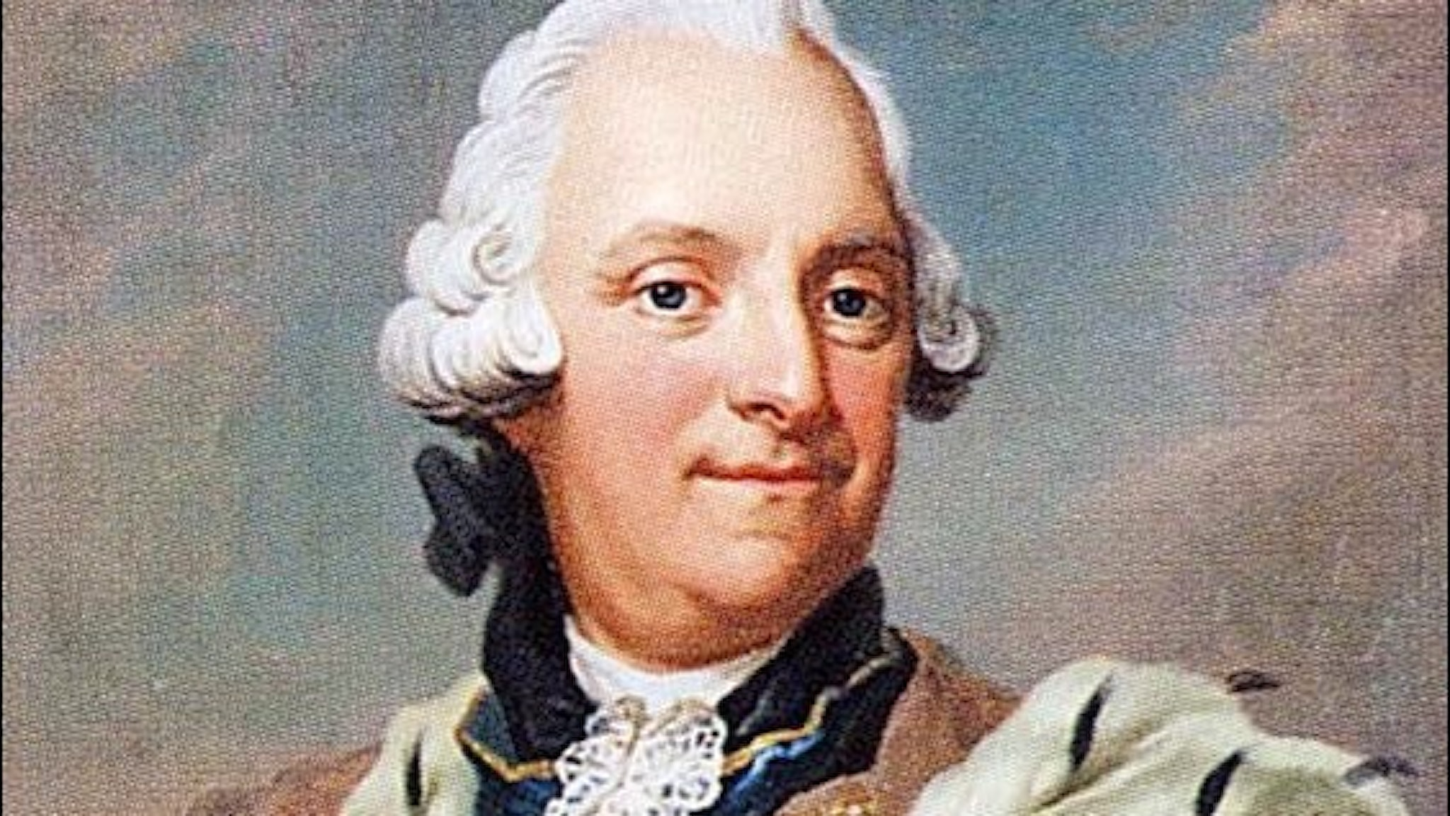 Adolf Fredrik vid trontillträdet (och innan semlorna).