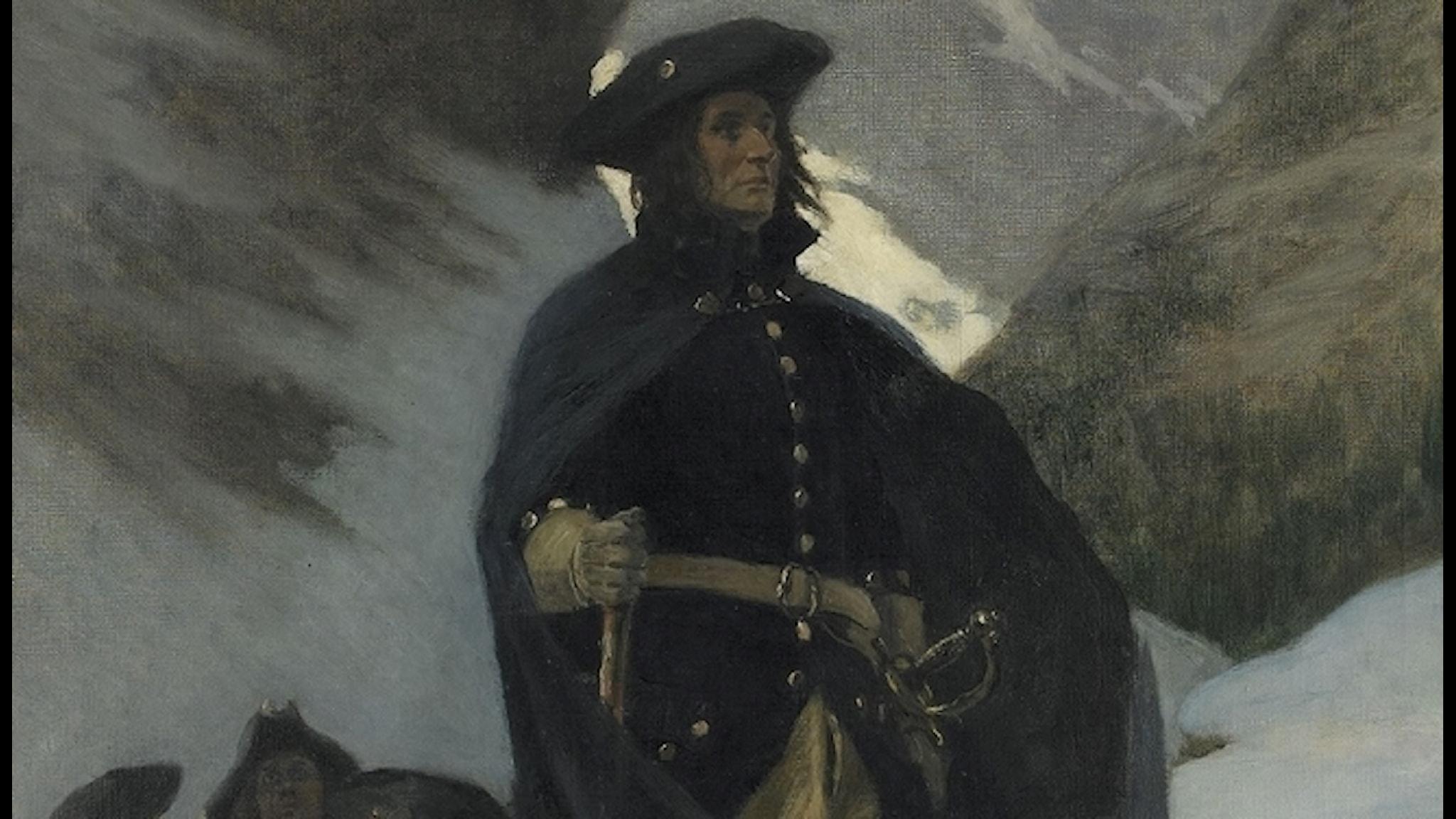 Generallöjtnant Carl Gustaf Armfeldts återtåg
